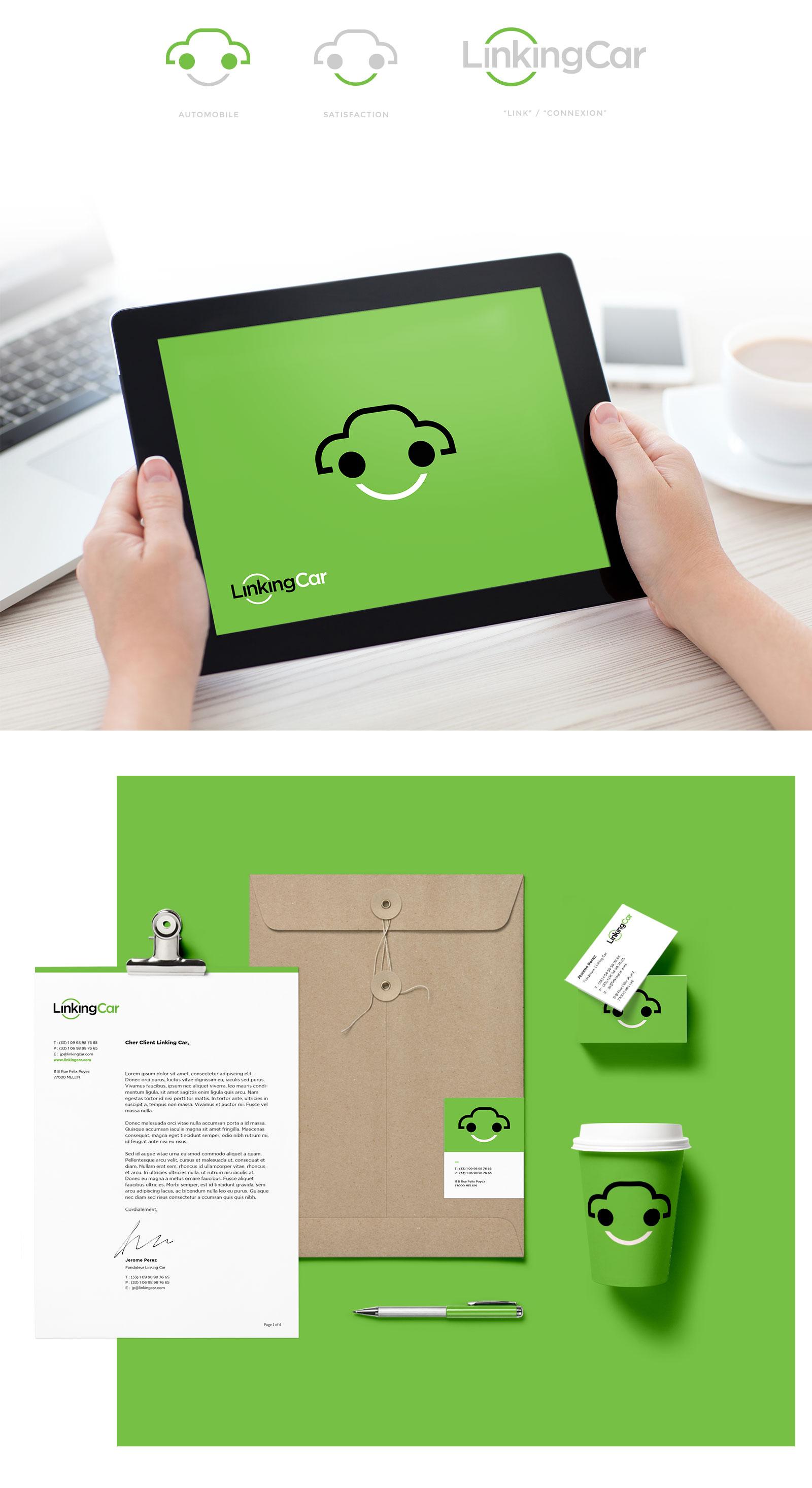 Concept de la marque LinkingCar