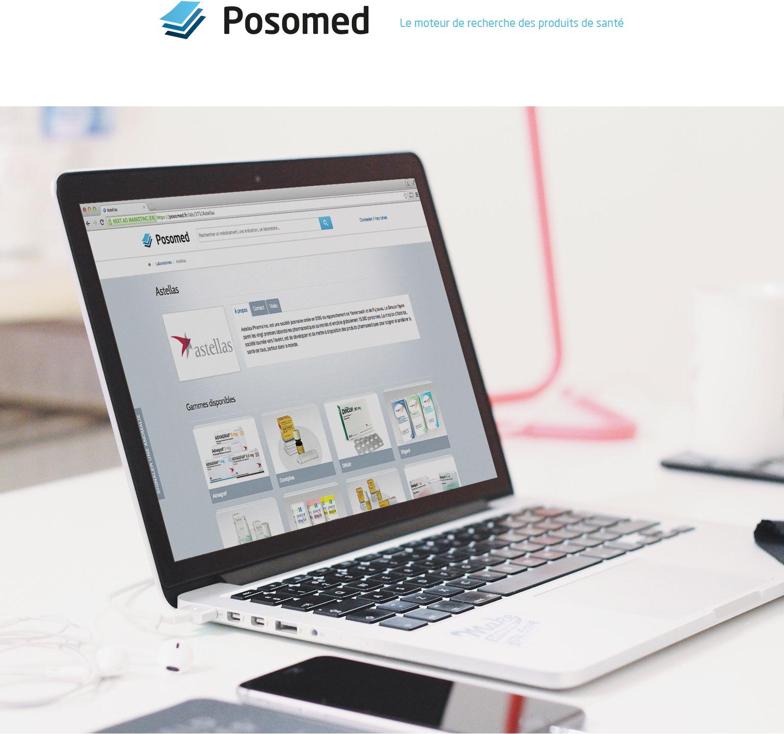 Posomed, le moteur de recherche des produits de santé
